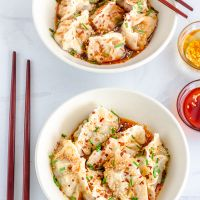 Sichuan Chicken Dumplings | Chicken Dumplings Recipe From Scratch