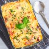 Best Ever Cheesy Chicken Pasta Bake | Cheesy Baked Chicken Penne Pasta