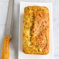 Best Ever Zucchini Cheddar Bread | Zucchini Cheddar Quick Bread Recipe