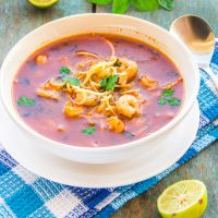 Thai Hot & Sour Prawn Noodle Soup