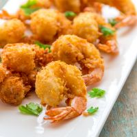 Crispy Fried Golden Shrimps