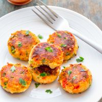 Paneer Cutlets | Indian Spiced Cottage Cheese Fritters