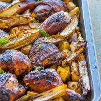 Balsamic Glazed Chicken *Video Recipe*