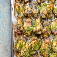 Ginger Scallion Grilled Chicken Wings *Video Recipe*