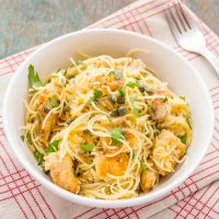 Chicken Piccata Angel Hair | Chicken Pasta Recipe Video