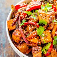 Chinese Stir-Fried Tofu *Video Recipe*