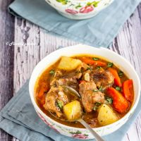 Potato, Carrot & Lamb Stew | Winter Special Lamb Stew Recipe