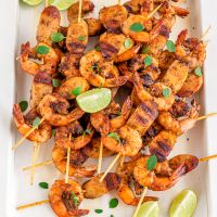 Shrimp and Sausage Skewers | Easy Shrimp Appetizer Recipe