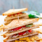 Chicken Club Sandwich | Healthy & Delicious Chicken Sandwich Recipe