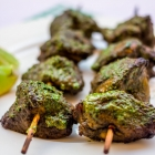 Hariyali Chicken Kabab | Smoky Grilled Chicken in Mint-Coriander Sauce