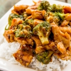Healthy Chicken & Broccoli Stir Fry