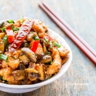 Chicken and Mushroom Stir Fry *Video Recipe*