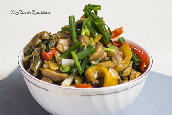 Chinese Mushrooms Stir-Fry