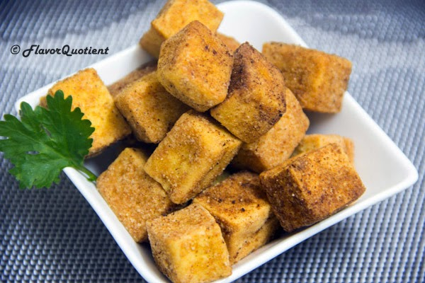 hot and crispy tofu