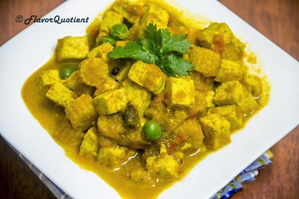 Tofu and Baby Corn Korma