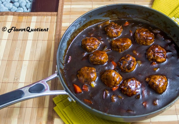 Chinese chicken meatballs