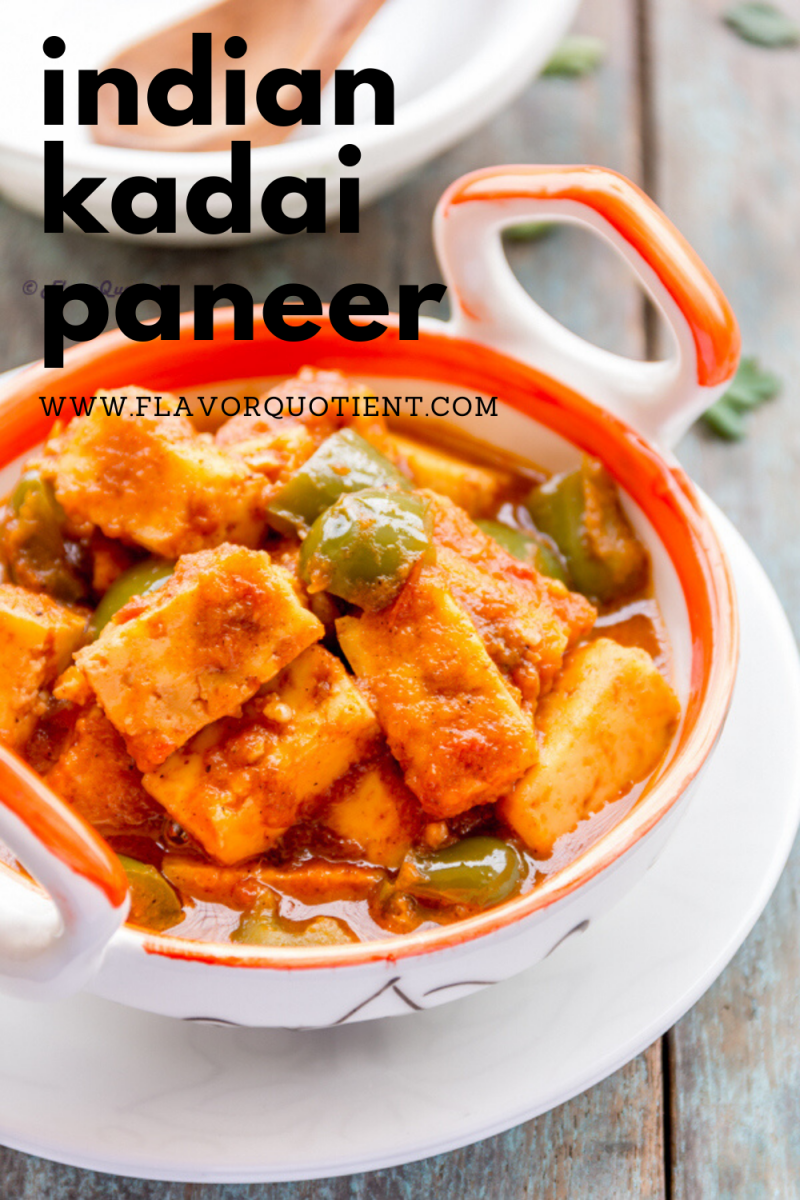 Kadai paneer is one of the flagship Indian paneer recipes without which vegetarian Indian palate is incomplete. Kadai paneer would be your favorite comfort food when you are looking for something hearty & wholesome! You will find kadai paneer in every Indian restaurant across India and here you can learn how to make it at home using this fail-proof recipe! | kadai paneer recipe | how to make kadai paneer recipe | restaurant style kadai paneer | Indian kadai paneer recipe | kadai paneer gravy