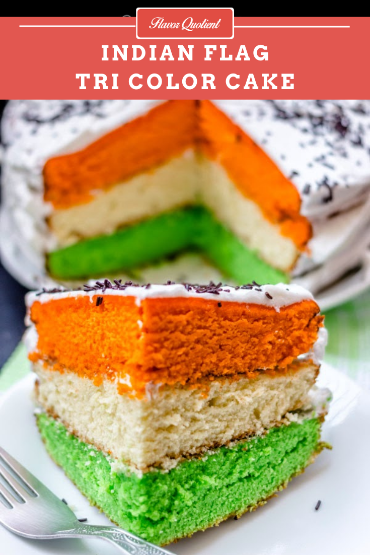 Indian Independence Day Special Tri Color Cake | Flavor Quotient | My tribute to our Tri Color! Proud to present to you the Indian Independence Day special tri color cake!