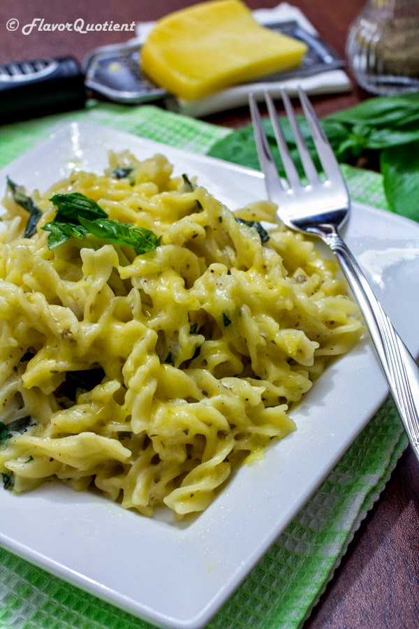 Vegetarian pasta with white sauce flavor quotient vegetarian pasta with white sauce forumfinder Images