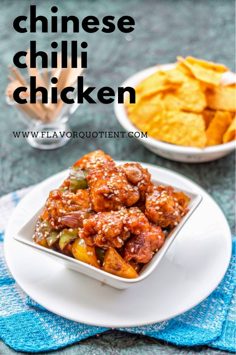 The super-popular restaurant style chilli chicken can never go wrong; especially with this fail-proof recipe! This Indo-Chinese chilli chicken is allegedly the most ordered dish in any Chinese restaurant across India! This easy recipe of chilli chicken will help you make crispy on the outside yet juicy on the inside cubes of chicken with the epic chili and soy based sauce! | chinese chilli chicken | how to make chilli chicken | chilli chicken easy recipe | chilli chicken step by step recipe