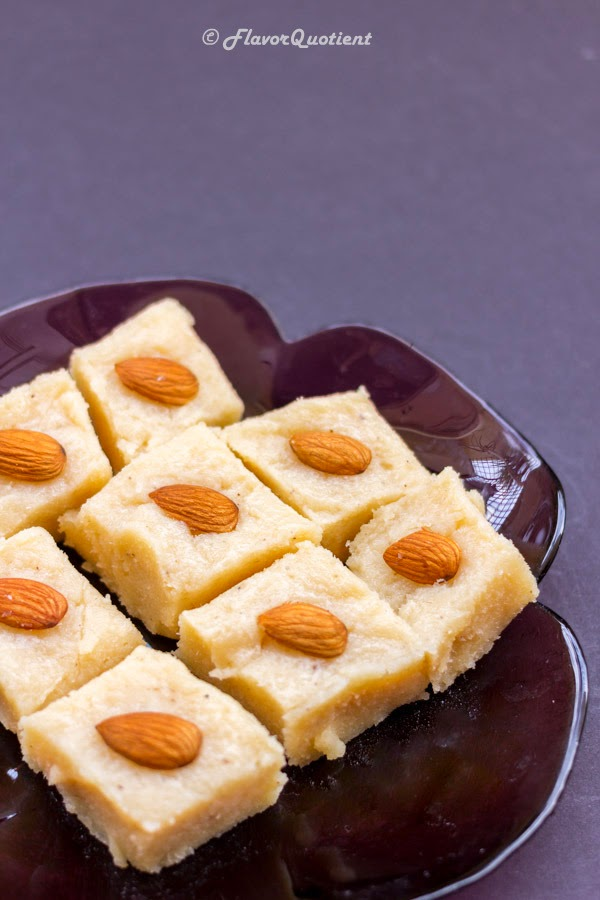 coconut sandesh