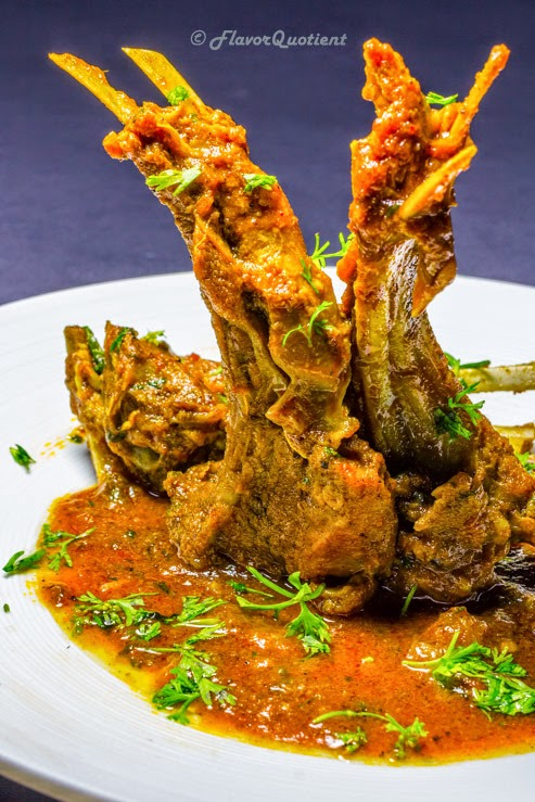 Indian Spiced Lamb Chops | Flavor Quotient | These delicious Indian spiced lamb chops are ideal for weekend indulgence! Introduce these lamb chops in your next party and you will rock!