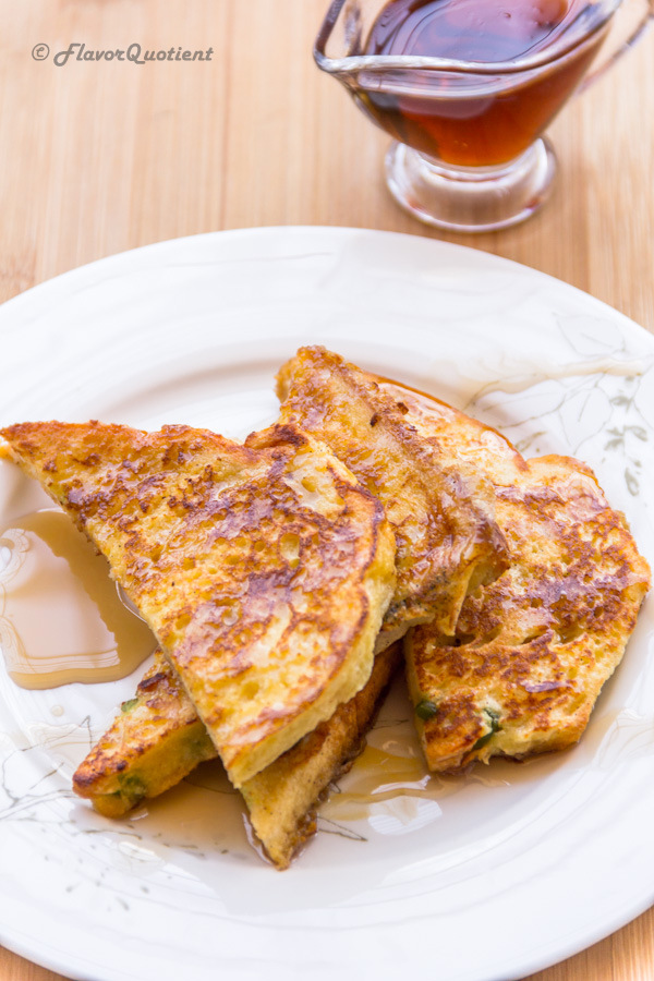 Sweet French Toast | Flavor Quotient | Sweet French toast is a delightful option for breakfast when you are looking for something wholesome but a no-fuss recipe!