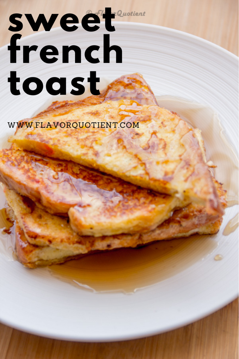 Sweet French toast is a delightful breakfast when you are looking for a wholesome yet no-fuss breakfast recipe! Check out this easy sweet french toast recipe and you will never struggle with how to make one! | Sweet french toast recipe | Sweet french toast breakfast bake | Sweet french toast recipe cinnamon | easy Sweet french toast recipe
