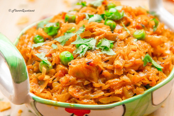Spicy Cabbage Masala