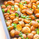 Indian Spiced Roasted Potatoes | Easy Roasted Potato Recipe