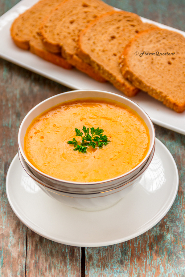 Curried Carrot Soup - Flavor Quotient