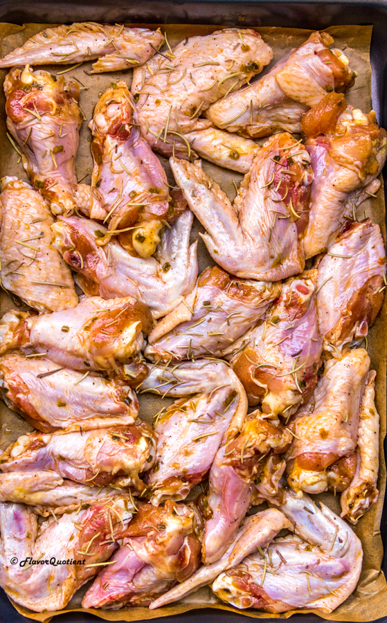 Buffalo Chicken Wings Marination