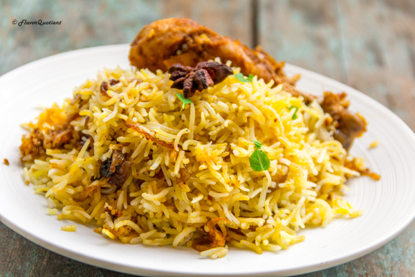 Easy Chicken Dum Biryani Flavor Quotient