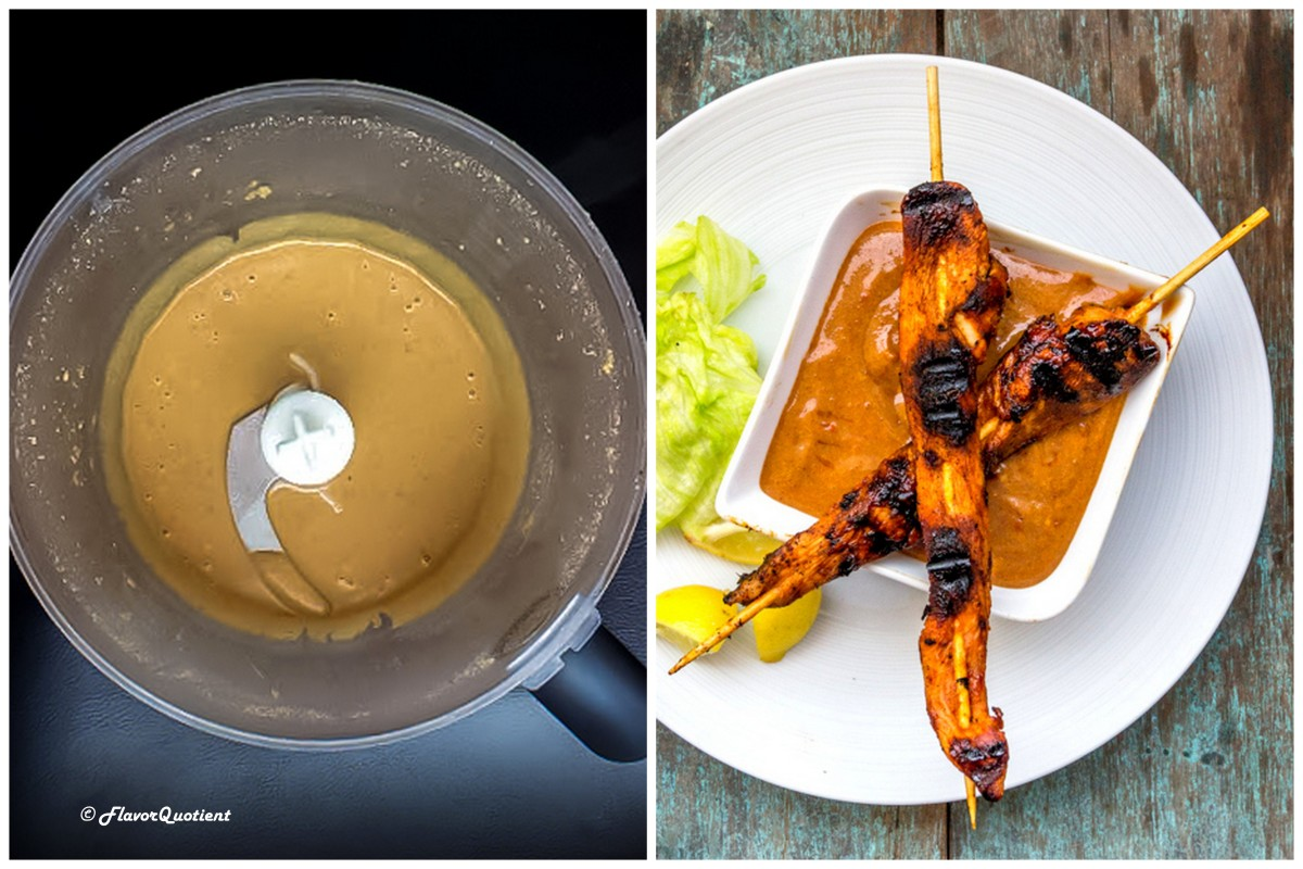 how to make peanut butter sauce for chicken satay