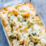 Easy Cheesy Broccoli Pasta Bake | Easy Veggie Baked Pasta Recipe