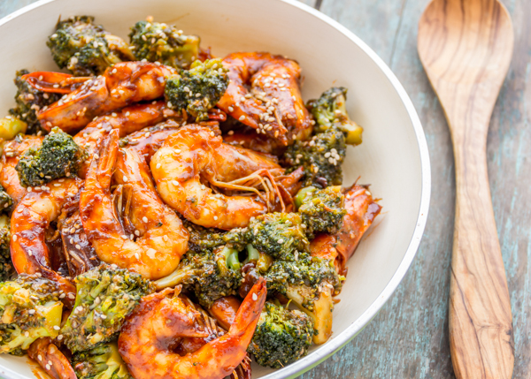 Broccoli Shrimp Stir Fry