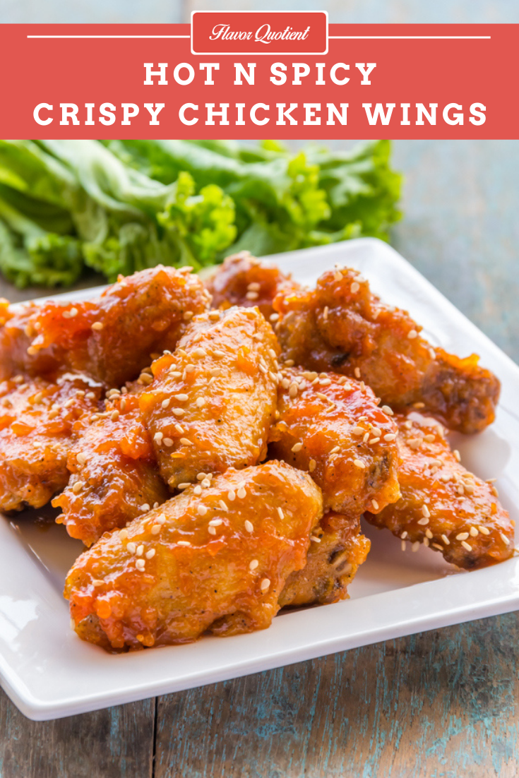 Hot & Spicy Chicken Wings | Flavor Quotient | Looking for a spicy chicken wings recipe which can be turned around in just a matter of minutes? This spicy chicken wings recipe is definitely for you then – super quick and super delish!