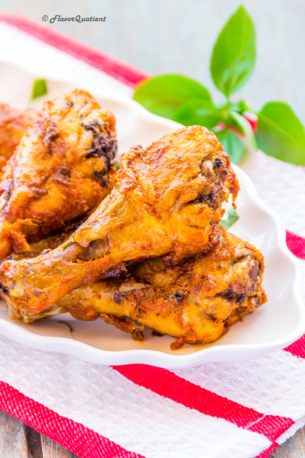 Indian spiced baked chicken