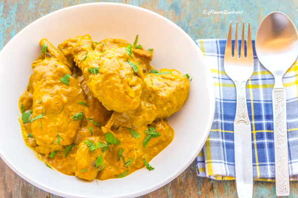 Chicken korma the traditional way flavor quotient chicken korma 5 forumfinder Images