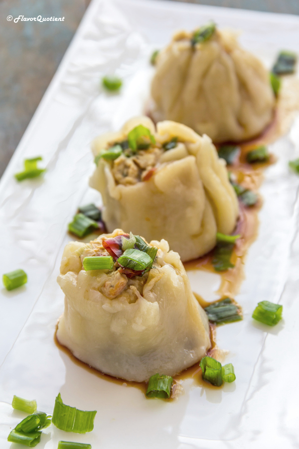Chicken Dim Sum | Flavor Quotient | Chicken dim sum, the classic Chinese delicacy, is an uniquely special dish to enjoy on special occasions with friends and family.