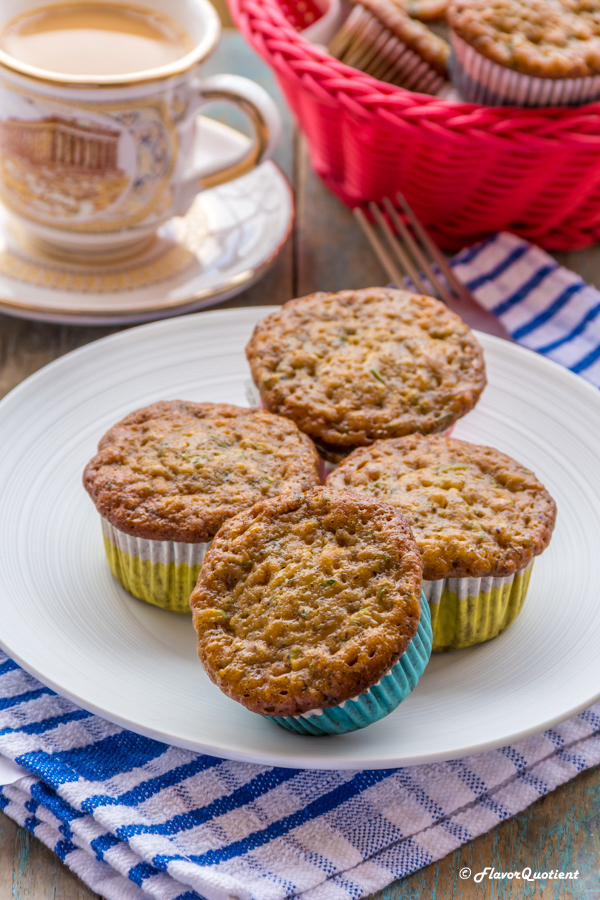 Low Fat Banana Zucchini Muffins Flavor Quotient