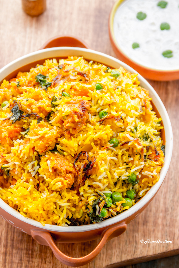 Best Ever Vegetable Biryani Diwali Special Biryani Recipe Flavor Quotient