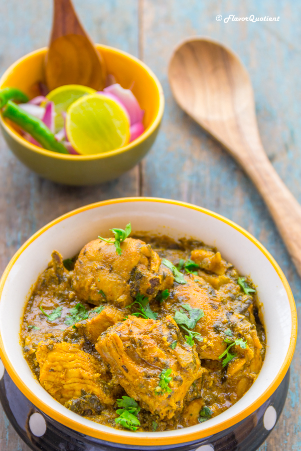 Methi Murgh | Indian Chicken Curry with Fenugreek leaves - Flavor ...