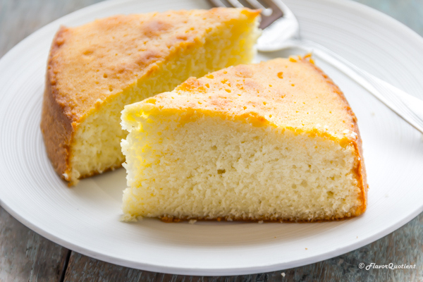 White Sugar Sponge Cake Recipe