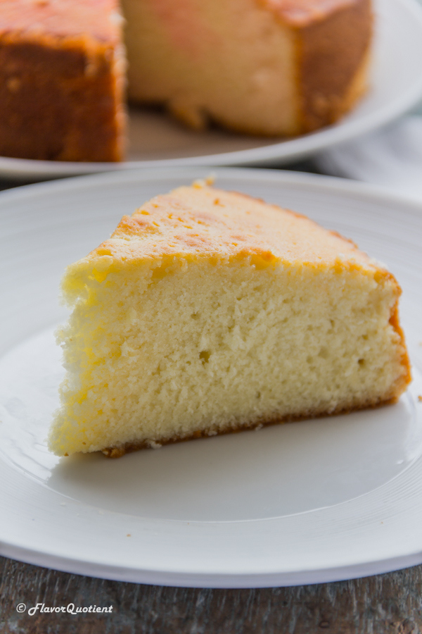 Vanilla Sponge Cake | Flavor Quotient | This is by far the best vanilla sponge cake baked by me and I still can't get over its awesomeness! A cake so moist and so spongy can only be a reality in our dreams!