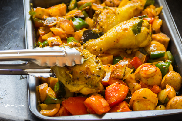 Indian Spiced Tray Baked Chicken