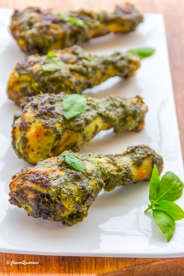 Pesto Roasted Chicken
