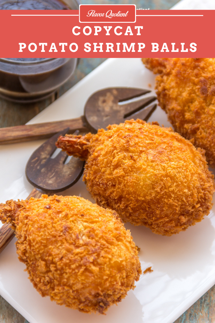 Copycat Potato Shrimp Balls *Video Recipe* | Flavor Quotient | These copycat potato shrimp balls really turned out amazing and exceeded my expectations way beyond! It's easy yet quite fun to make and ideal make ahead party snack!