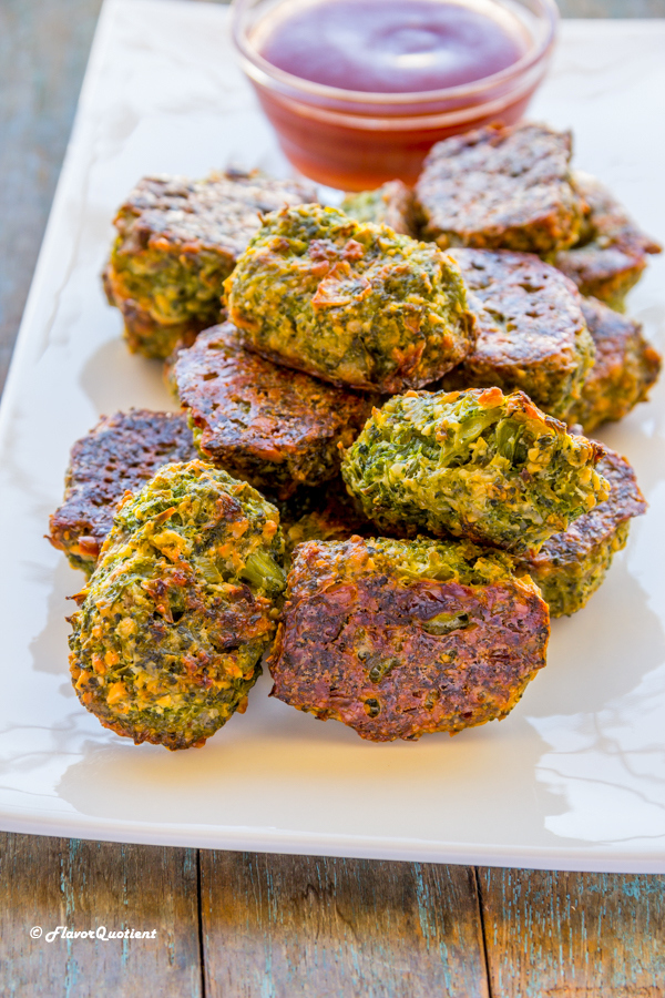 Broccoli Tater Tots | Flavor Quotient | The scrumptious broccoli tater tots is a clever twist on the regular tater tots making it way more healthy and guilt-free!