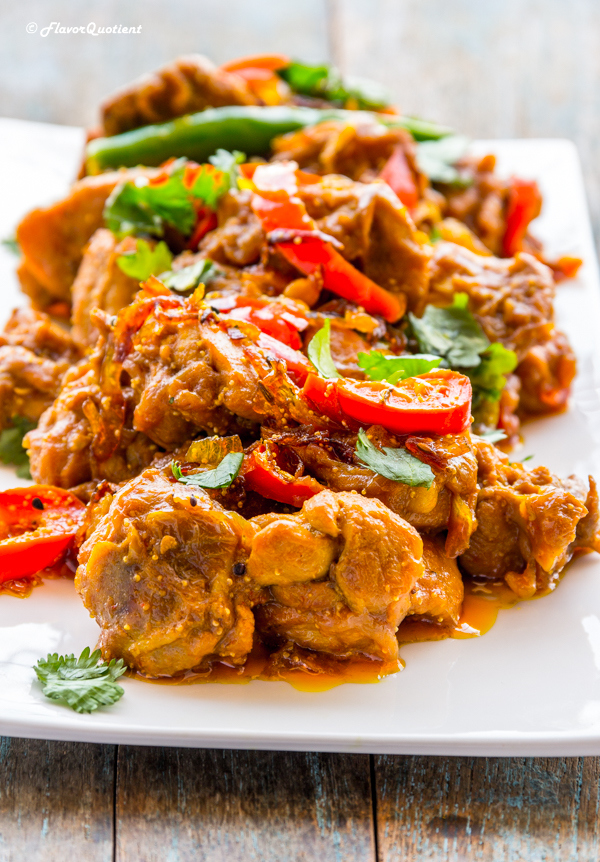 Indian Spiced Chicken stir fry